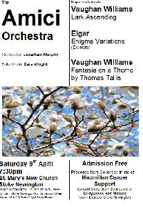 April 2011 Concert